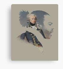 America's Favorite Fighting Frenchman Canvas Print