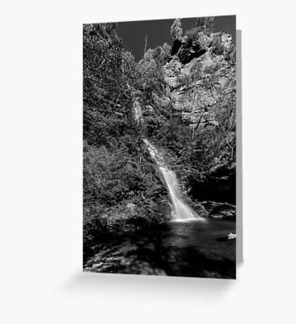 Minnehaha Falls - Katoomba NSW Greeting Card