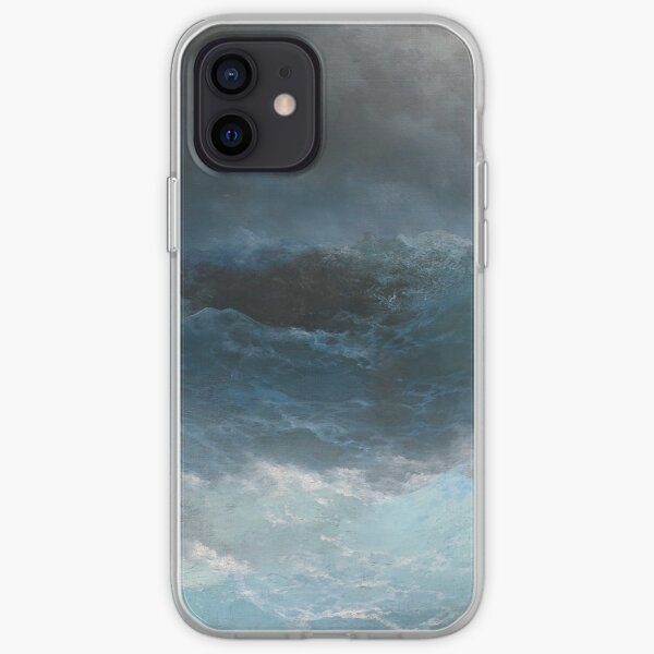 Stormy Sea by Ivan Aivazovsky iPhone Soft Case