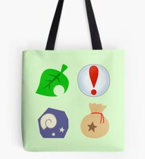 Animal Crossing Icons Tote Bag