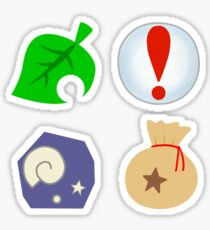 Animal Crossing Icons Sticker