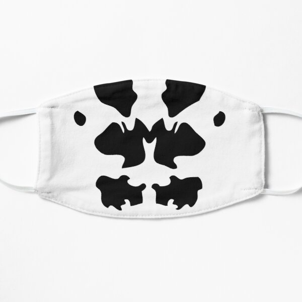 Rorschach-Maskenstil (Covid19-Comics-Stil für Filmfreaks) Maske