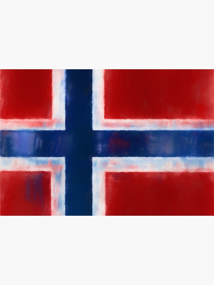 Norwegian Flag No. 1, Series 1 by 8th-and-f