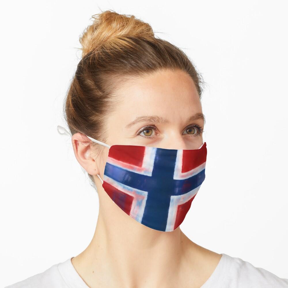Norwegian Flag No. 1, Series 1 Mask