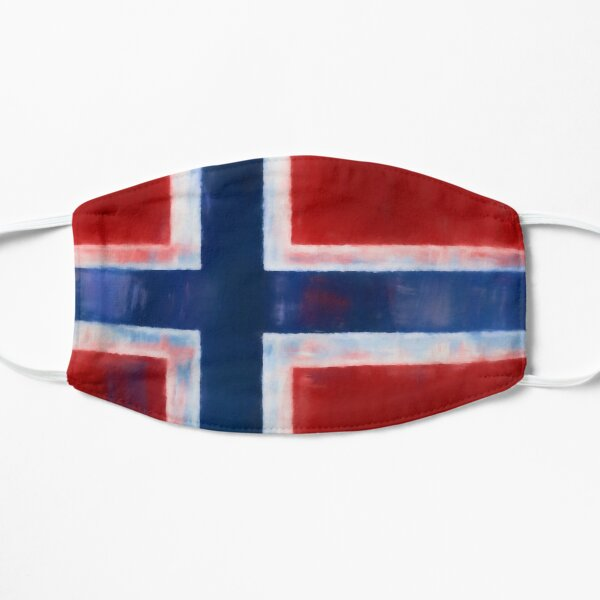 Norwegian Flag No. 1, Series 1 Flat Mask