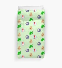 Animal Crossing Icons Duvet Cover