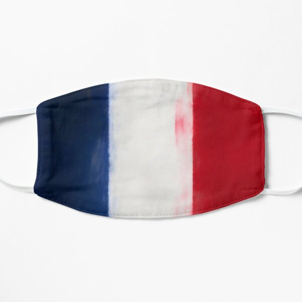 French Flag No. 1, Series 1 Flat Mask