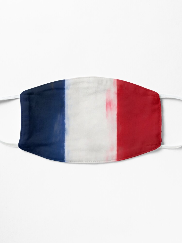Alternate view of French Flag No. 1, Series 1 Mask