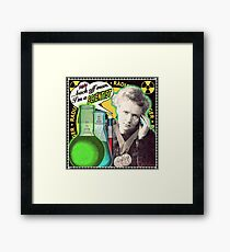Popular Science: M. Curie (English) Framed Print