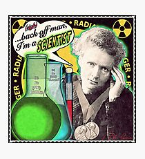 Popular Science: M. Curie (English) Photographic Print