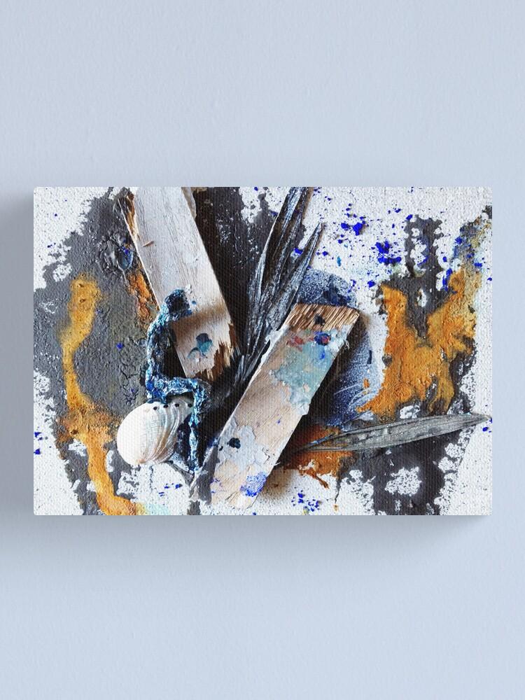 Alternate view of Broken Truth Canvas Print