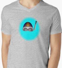 Diver by rafi talby Mens V-Neck T-Shirt