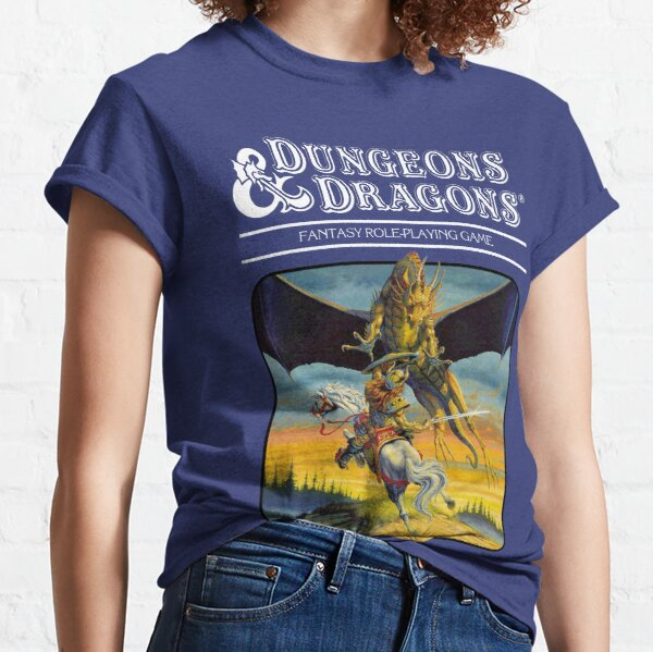 Dungeons & Dragons Expert rules set Artwork Classic T-Shirt