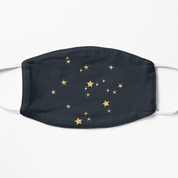 Sagittarius Golden Stars Constellation Flat Mask