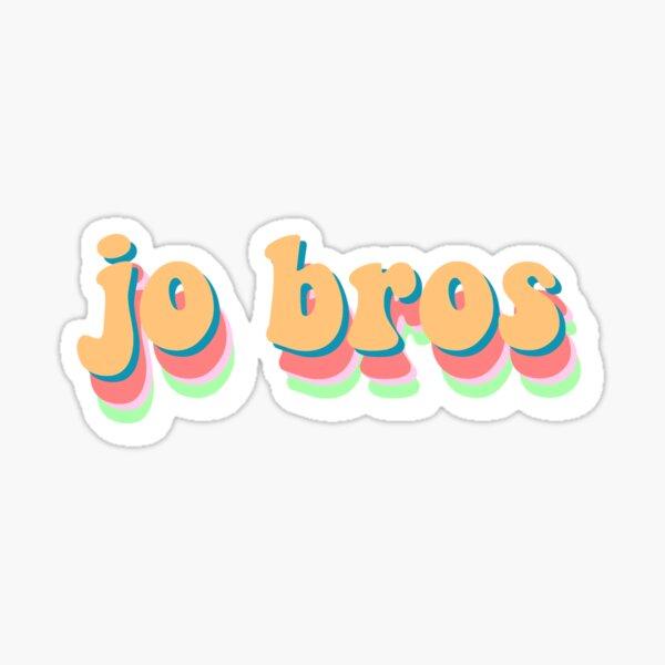jo bros sticker Sticker