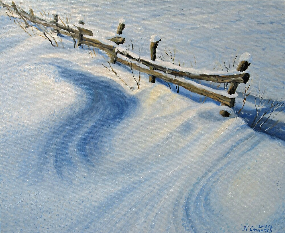 Ice Glitter by kirilart