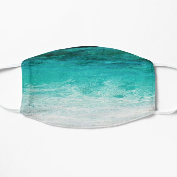 Shades of the Ocean Flat Mask