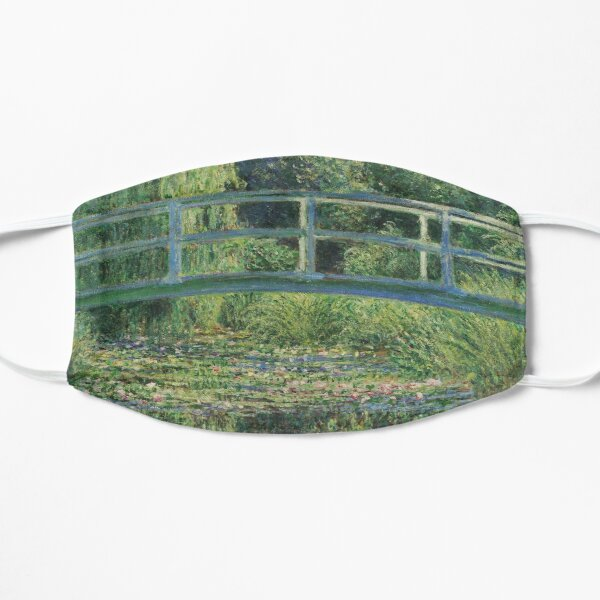 Claude Monet - The Water-Lily Pond Mask