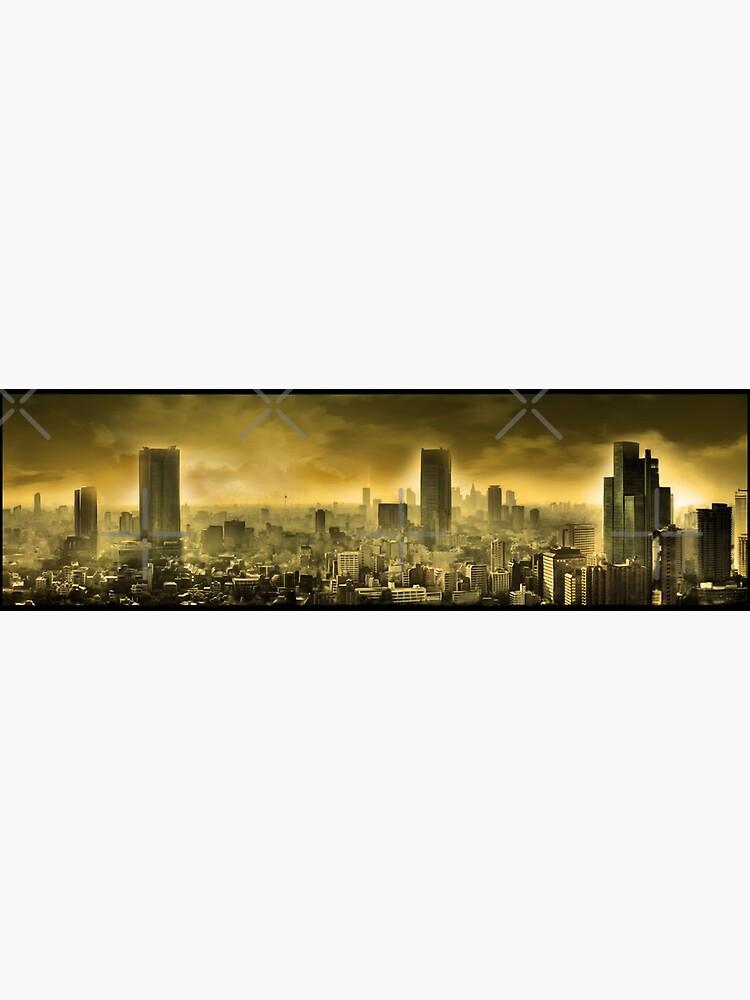 Nuclear city, Apocalypse by Elenanaylor
