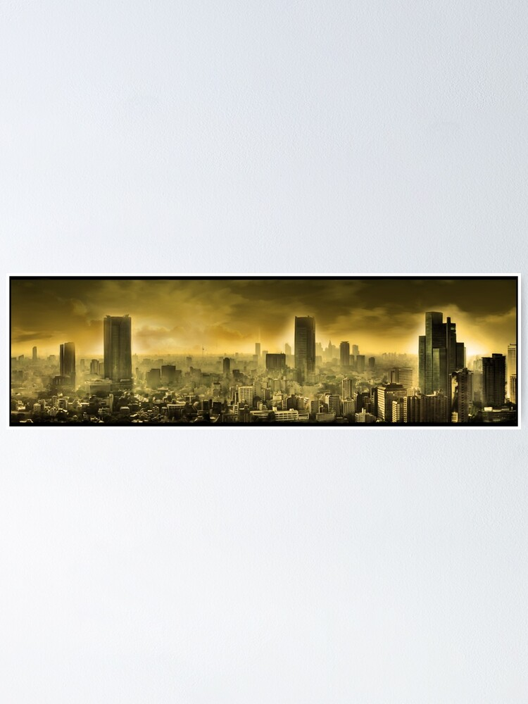 Alternate view of Nuclear city, Apocalypse Poster