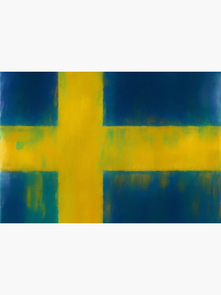 Swedish Flag No. 1, Series 1 by 8th-and-f
