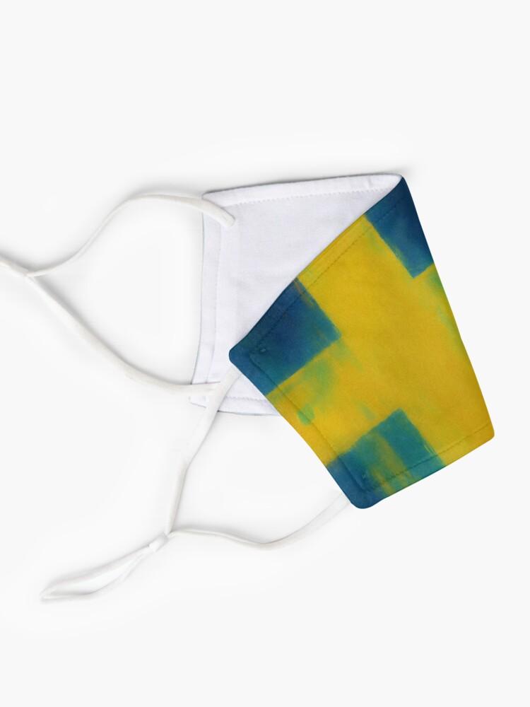 Alternate view of Swedish Flag No. 1, Series 1 Mask