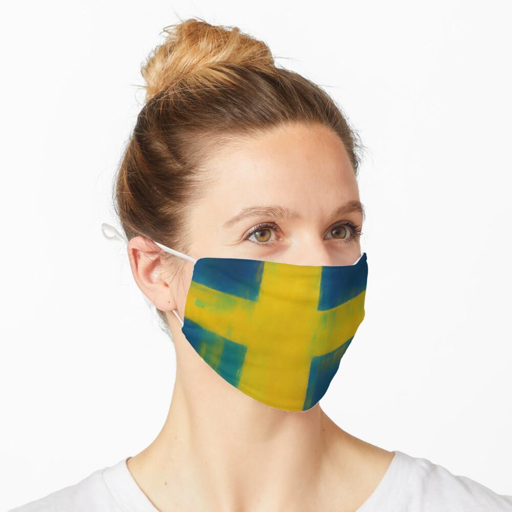 Swedish Flag No. 1, Series 1 Mask