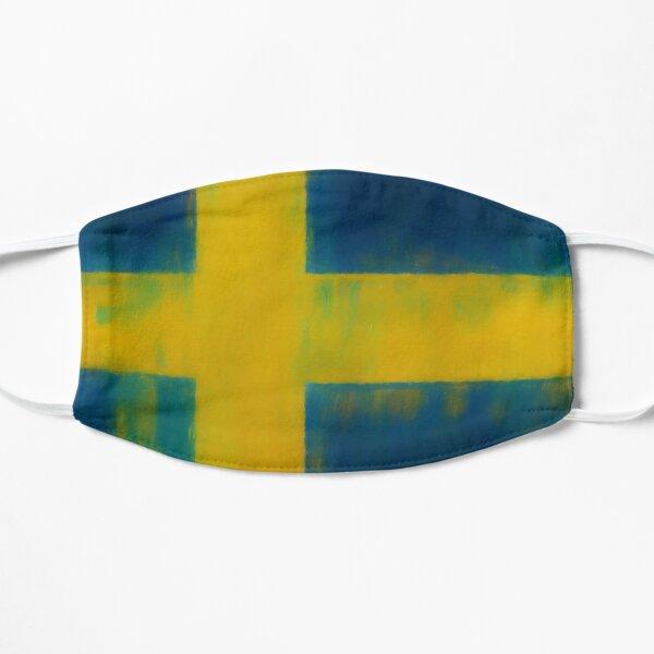 Swedish Flag No. 1, Series 1 Flat Mask