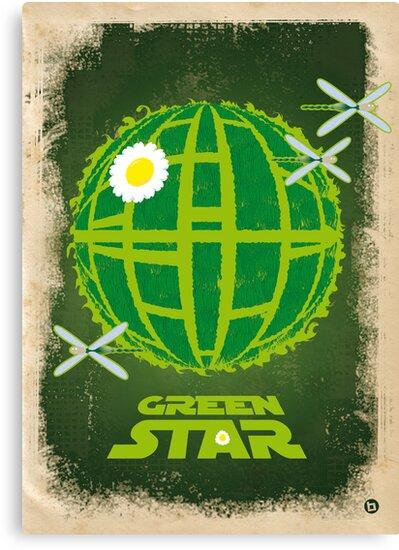 Green Star by Alain Bossuyt