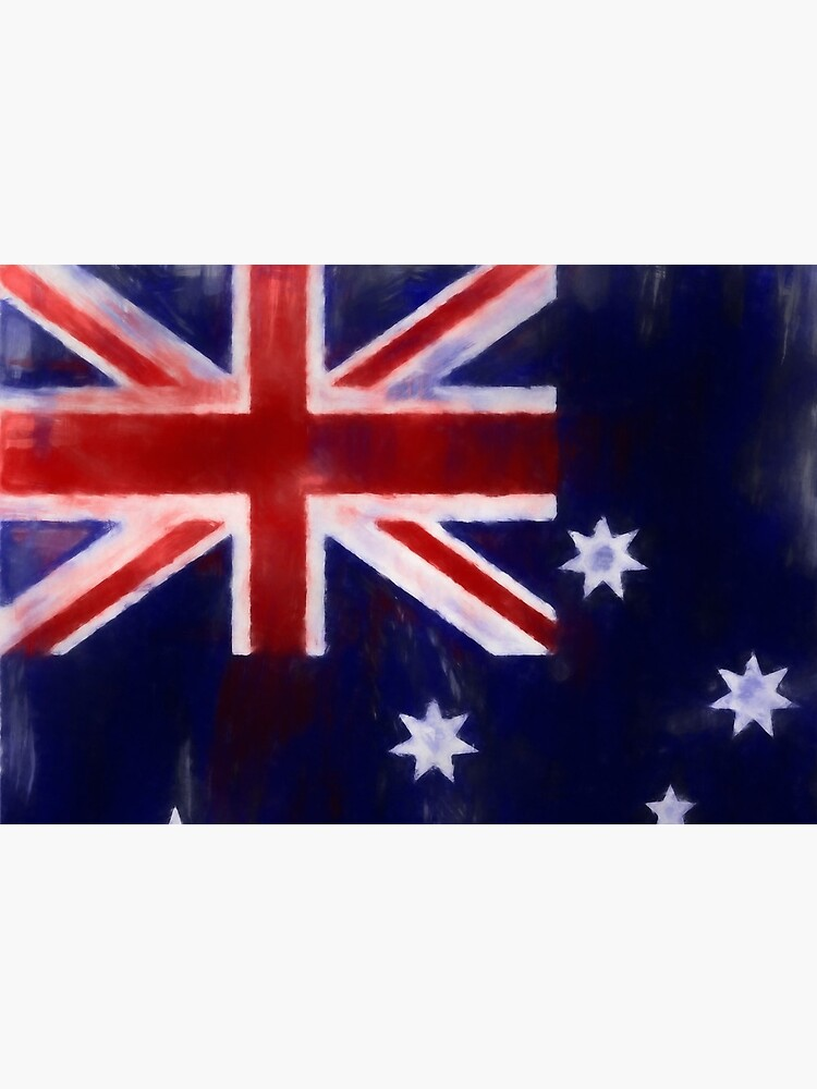 Australia Flag No. 1, Series 1 by 8th-and-f