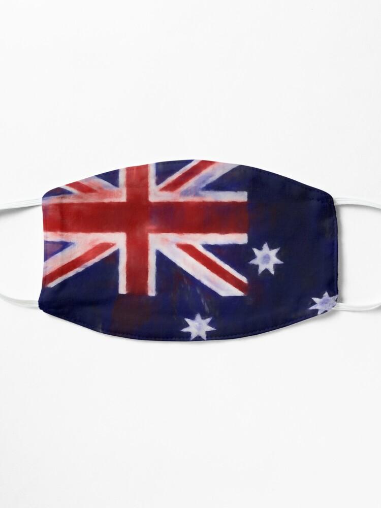Alternate view of Australia Flag No. 1, Series 1 Mask