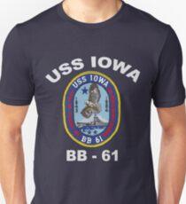 USS Iowa (BB-61) for Dark Colors T-Shirt