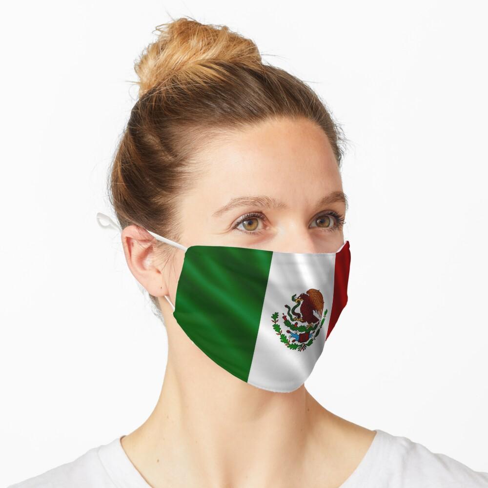 Mexico Flag Mask Mask