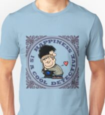 Happiness is a Cool Detective Unisex T-Shirt