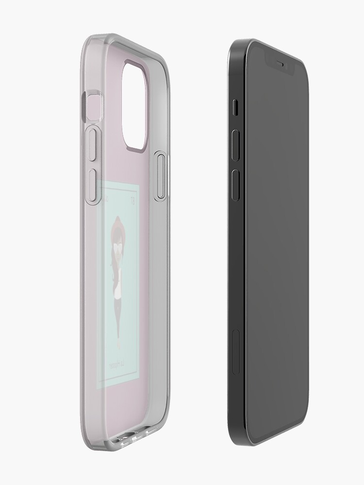 Alternate view of La Hipster iPhone Case