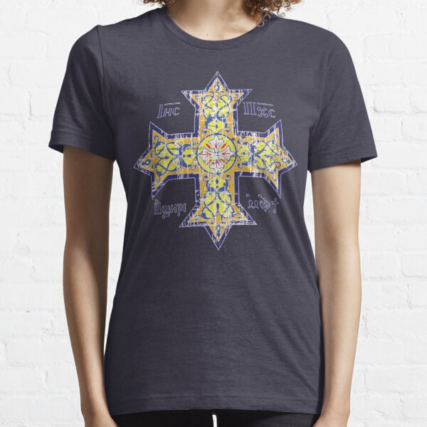 Christian Cross Coptic Essential T-Shirt