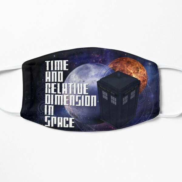 Time And Relative Dimension In Space Mask