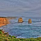 2 of the 12 apostles by Andrew  MCKENZIE