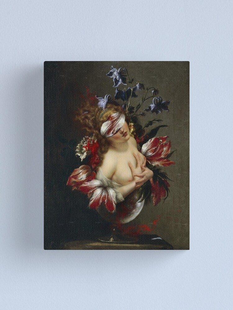 Alternate view of BLIND BEAUTY Canvas Print