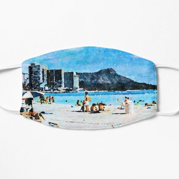 Waikiki and Diamond Head Reworked Flat Mask