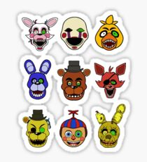 Five Nights At Septic Eye's Sticker