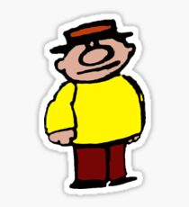 Teeny Little Super Guy Sticker