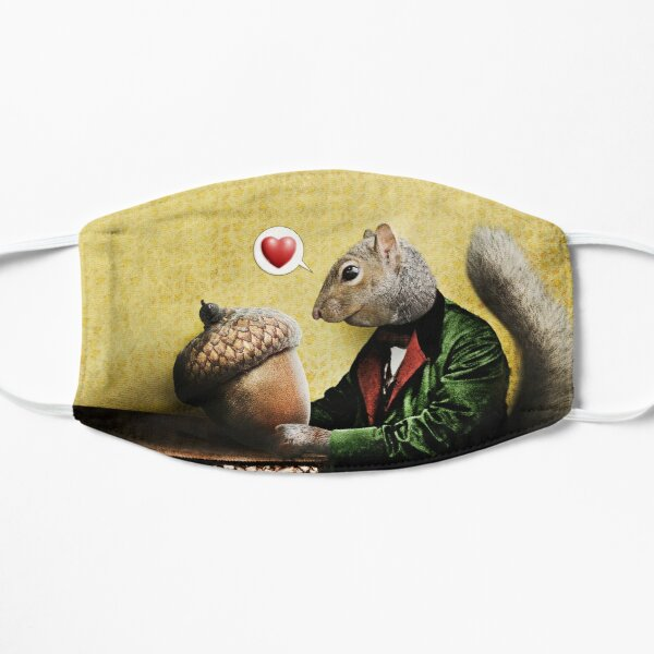 Mr. Squirrel Loves His Acorn Mask