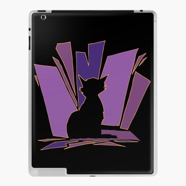 Purple Meow iPad Skin