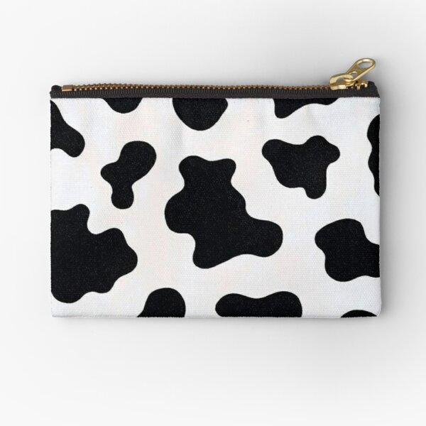 cow print background Zipper Pouch