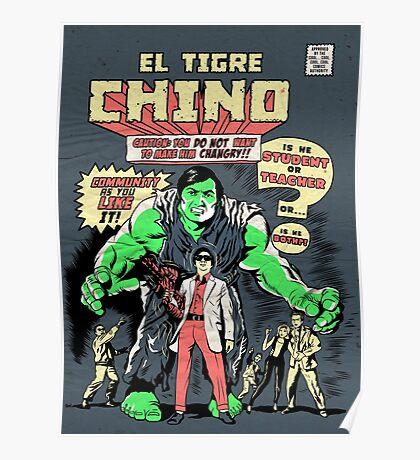El Tigre Chino Poster