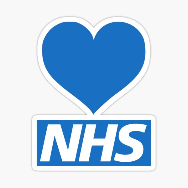 NHS HEROES Sticker