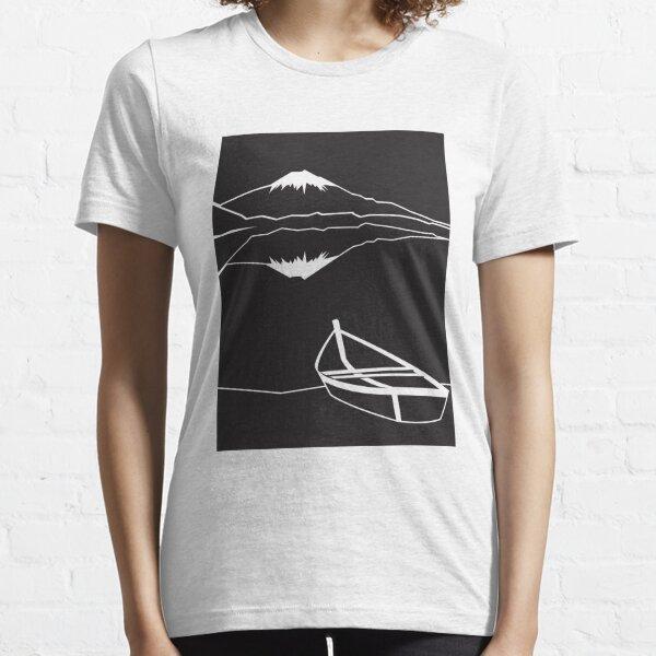 Mount Fuji night Essential T-Shirt