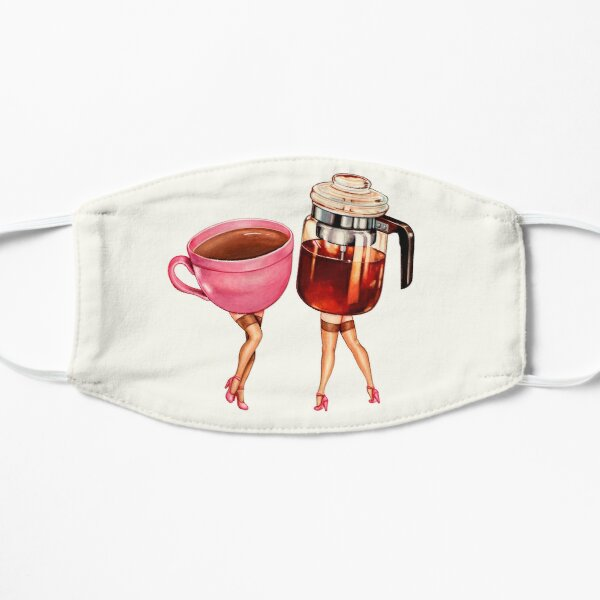Coffee Girl Pin-Ups Mask