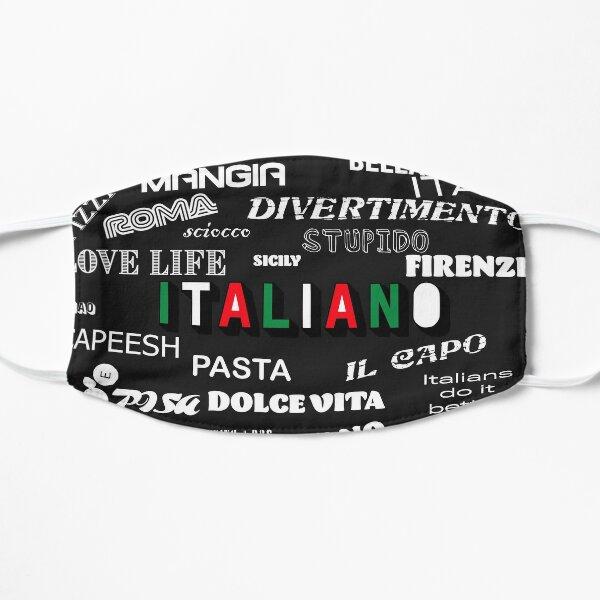 Message italien Masque sans plis